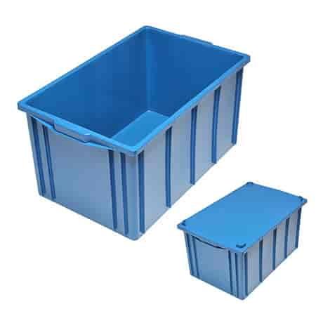 caixa de plástico para transporte
