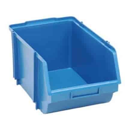 caixa plástica bin