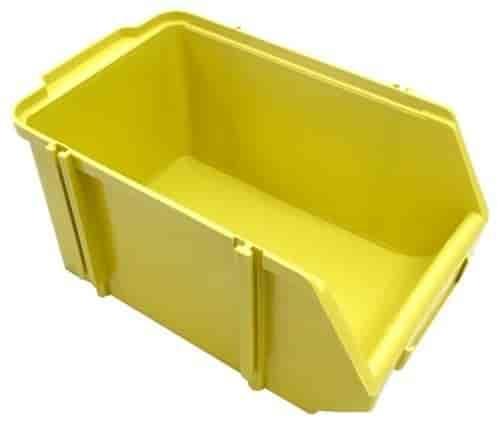caixas plásticas bin