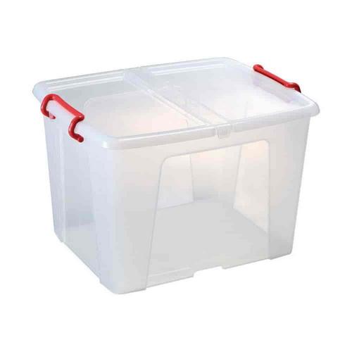 caixas plásticas com tampa
