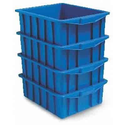 caixa plástica empilhável