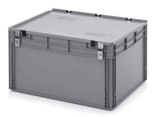 caixas plásticas empilhável com tampa