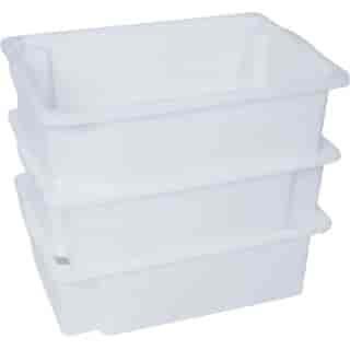 caixas plásticas empilhável com tampa em sp