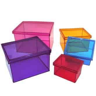 caixas plásticas organizadoras preço em sp