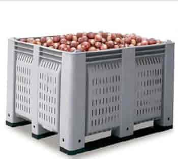 caixa plástica para frutas preço