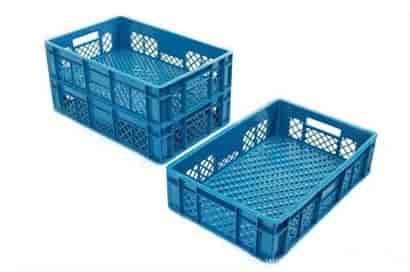 caixas plásticas vazada hortifrúti em sp