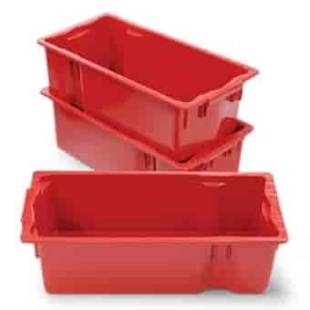 caixa plástica empilháveis em sp